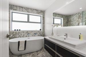 Awning windows bathroom