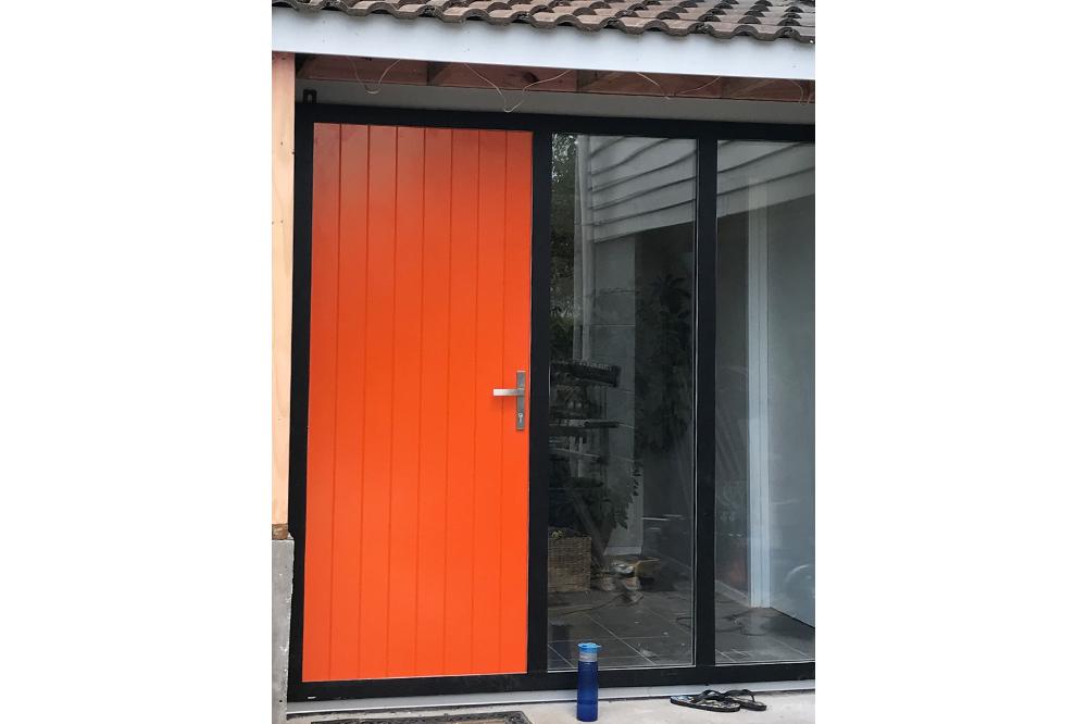 Axis door in residential home