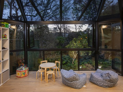 bifold windows with a view