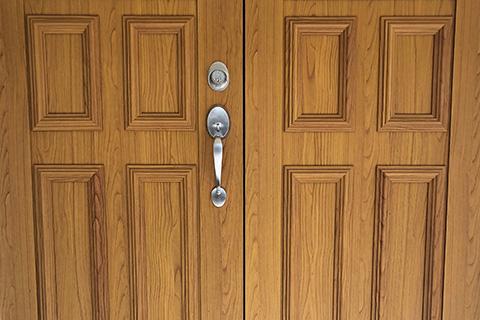 Classic wooden door