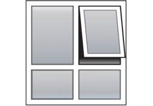 awning window layout